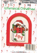 Jack Bunny in Box Whimsical Christmas Cross Stitch Kit