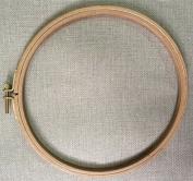WRMHOM 7.1 Inch Wooden Embroidery Hoop 18CM Hand Stitching Hoop - Cross Stitch Hoop - Framing Hoop - Stitchery Hoop - Craft Supply Hoop