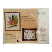 Vintage The Creative Circle Needlepoint Kit 0554 Four Seasons
