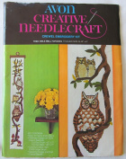 Avon Creative Needlecraft Crewel Embroidery Kit - Tree Owls Wall Hanging