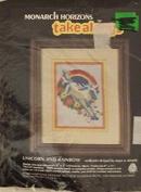 """Monarch Horizons Take Along - """"Unicorn & Rainbow"""" - Needlepoint Kit MTA 25"""