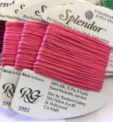 splendour SILK THREAD-colour 993-MEDIUM ROSE PINK