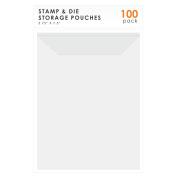 LINKYO Stamp and Die Storage, 100-Pack