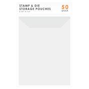 LINKYO Stamp and Die Storage, 50-Pack