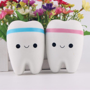 WILLTOO Creative Smiley Tooth Very Soft Slow Rising Squeeze Rare Kids Toy
