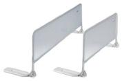 Sorelle Mesh Bed Rail, White, 90cm