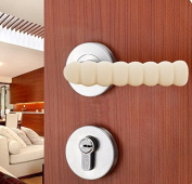 Aussel 5 Pack Kids Safety Door Knob Protective Handle Covers for Baby