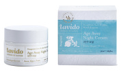 Lavido Pomegranate Seed, St. John's Wort, and Bergamot with Hyaluronic Acid Age Away Night Cream