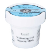 Milk Plus Whitening Q10 Sleeping Mask : 45g