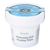 Milk Plus Whitening Q10 Sleeping Mask : 45g