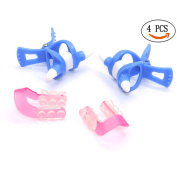 2 Pcs Nose Up Shaping Shapper Lifting + 2 Pcs Nose Up Lifting Shaping Clip by IDS