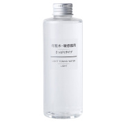 MUJI Sensitive Skin Moisturising Toning Water/Toner, Light - 200ml