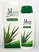 MINERAL LINE From The Dead Sea FACE TONER Aloe Vera 8.8 Oz / 250 ml
