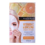 Morgan Miller Vitamin C & Ginseng Mask Sheet,1 ct