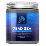 Sol Beauty Dead Sea Mud Mask - Spa Quality - 260mls