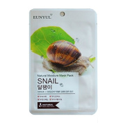 EUNYUL Natural Moisture Mask Pack SNAIL Mask 30pcs + VM Korea Sample [VM3365]