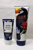Bath & Body Works - One for home & One for Travel – ULTRA SHEA Body Cream Set - Waikiki Beach Coconut