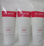 x3 The Gap So Pink Hand Cream Lotion 60mls Each Travel Size