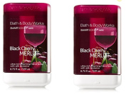 Black Cherry Merlot SmartSoap Refills - Pair of TWO (2) Bath & Body Works Ultra-Rich Foaming Smart Soap Hand Soap Dispenser Refills