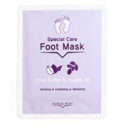Bobos Remi Specail Care Foot Mask - Shea Butter & Jojoba Oil, 1 Pair
