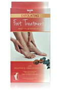SpaLife Exfoliating Foot Treatment with Eucalyptus Oil and Walnut Shells - 3 Treatments