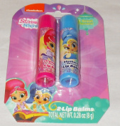 Nickelodeon Shimmer and Shine Lip Balm - 5.1cm Package - Strawberry and Blueberry Flavours