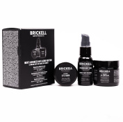 Brickell Men's Advanced Anti-Ageing Routine - Anti Ageing Cream, Serum & Eye Cream - Natural & Organic