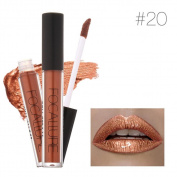 KESEE FOCALLURE New Fashion Lipstick Cosmetics Women Sexy Lips Metallic Lip Gloss