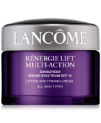 Renergie Lift Multi-Action Sunscreen Broad Spectrum SPF 15 Lifting and Firming Cream All Skin Types 15ml