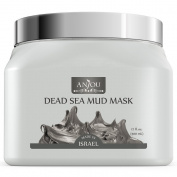 Anjou 500ml Dead Sea Mud Mask for Facial Treatment, Made in Israel