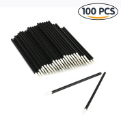 Shintop 100PCS Disposable Eyeliner Makeup Brush Applicator Disposable Fine Tip Eyeliner Brushes