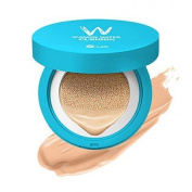 [W. Lab] W-Snow Water Cushion #23 Water Beige