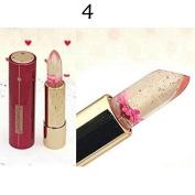 Thinkmax Women flower jelly moisturiser Lipstick Colour Changing Long Lasting Lip Gloss 04