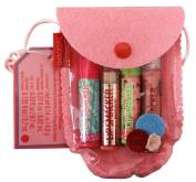 Bonnie Bell Lip Smacker Pretty in Pink 4-pc Lip balm set