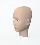 Charlene Makeup Flatback Mannequin Head for Training and Practising