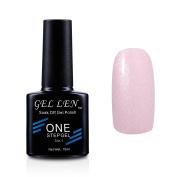 Gellen Soak Off One Step Gel Nail Polish No Need Base Top Coats 3 In 1 UV/LED Cure 10ml Colour #35