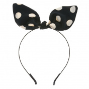 Polka Dot Flexible Ribbon Headband