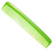 Large Coarse/Fine Tooth Power Comb - Assorted Colours