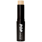 POPwear Foundation Stick, Buildable Coverage and Sun Protection - Natural Finish