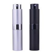 MUB Twist-Up Perfume Atomizer,8ml Empty Spray Perfume Bottle for Travelling with Your Favourite Perfume or Essential Oils