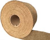 Burlapper 10cm x 20 Yards Jute Burlap Ribbon Roll, 350ml Decorator Fabric