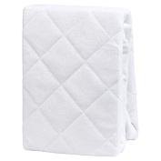 Organic Bamboo Crib Mattress Protector Pad Cover