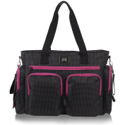 Versatile Nappy Bag By Bag & Carry - . Travel Tote Bag For Moms – Spacious Stroller Organiser