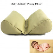 M & G House 2 PC Newborn Photography Basket Filler Wheat Butterfly Posing Pillow Baby Photo Prop