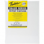 Tara Fredrix Value Stretch Canvas Twin Pack-20cm x 25cm