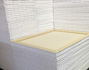 1.9cm Artist Blank Stretched Cotton Canvas Primed Gesso Art Oil Acrylic Painting