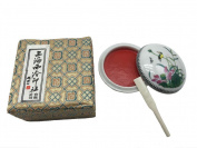 Easyou Shanghai Xiling Ink Paste Chinese Seal Red Ink Pad 30g(30ml) Cinnabar Jingmian Zhusha