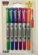 Artminds Dual Tip Permanent Markers Bold Colours Series