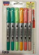 Artminds Dual Tip Permanent Markers Pastel Colours Theme