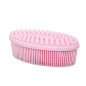 Silicone Bath Brush Soft Shampoo Head Scalp Body Massager
